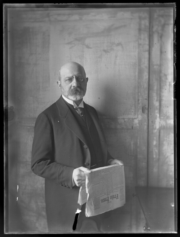 Bildnis Julius Mannaberg (1860-1941)