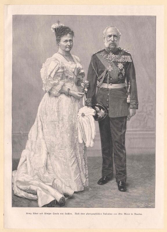 Albert I. König von Sachsen