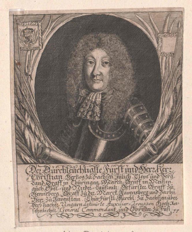 Christian II., Herzog von Sachsen-Merseburg
