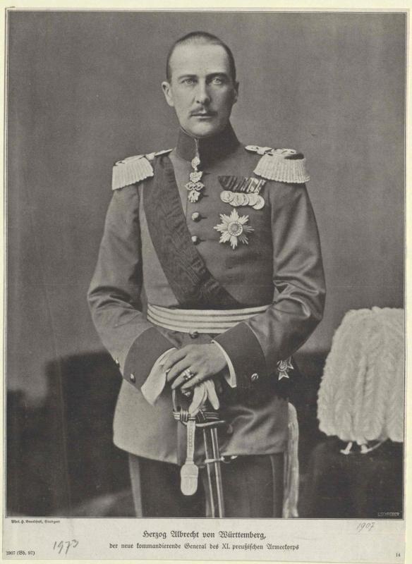 Albrecht, Herzog von Württemberg