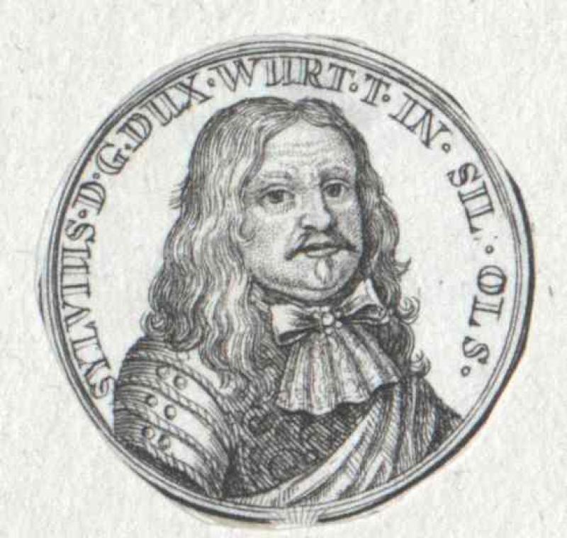 Silvius Nimrod, Herzog von Württemberg-Oels
