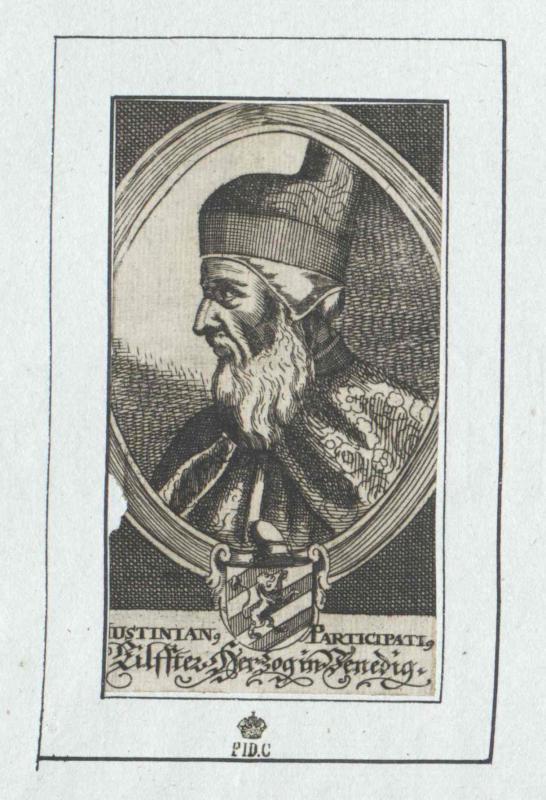 Participazio, Giustiniano