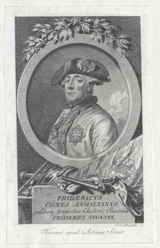 Anhalt, Friedrich Graf