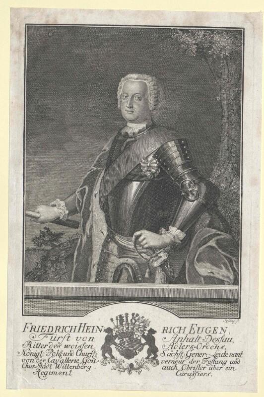 Anhalt-Dessau, Friedrich Heinrich Eugen Prinz