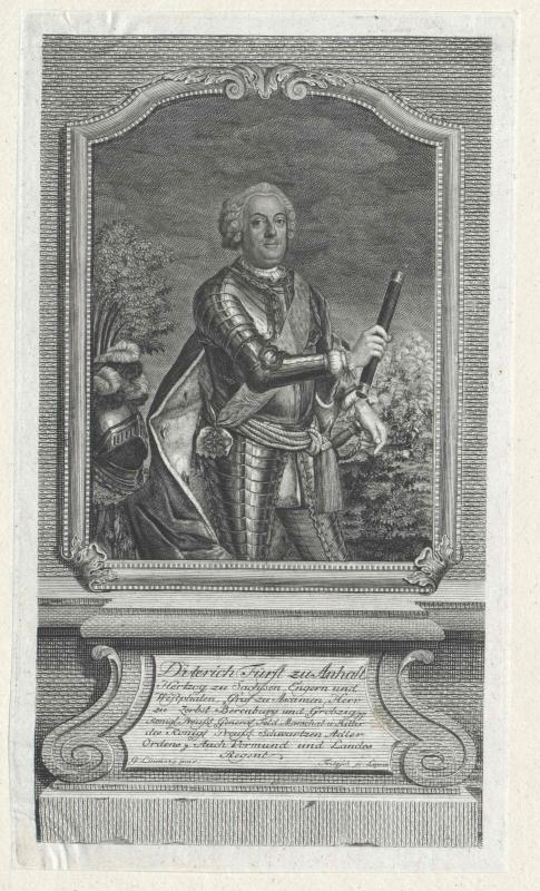 Anhalt-Dessau, Dietrich Prinz