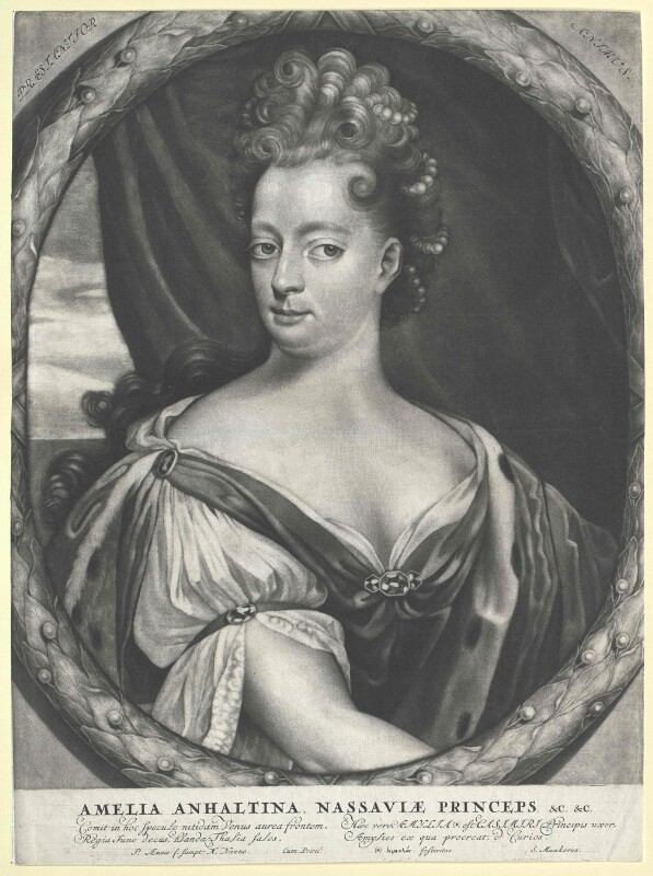 Anhalt-Dessau, Amalie Prinzessin