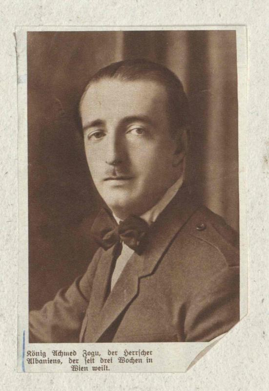 Zogu I., König der Albaner