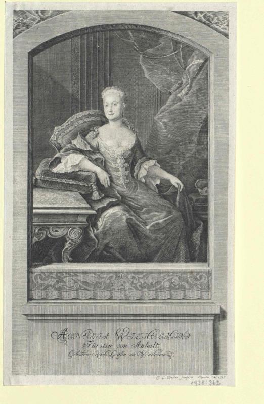 Wuthenau, Agnes Wilhelmine Gräfin von Warmsdorf