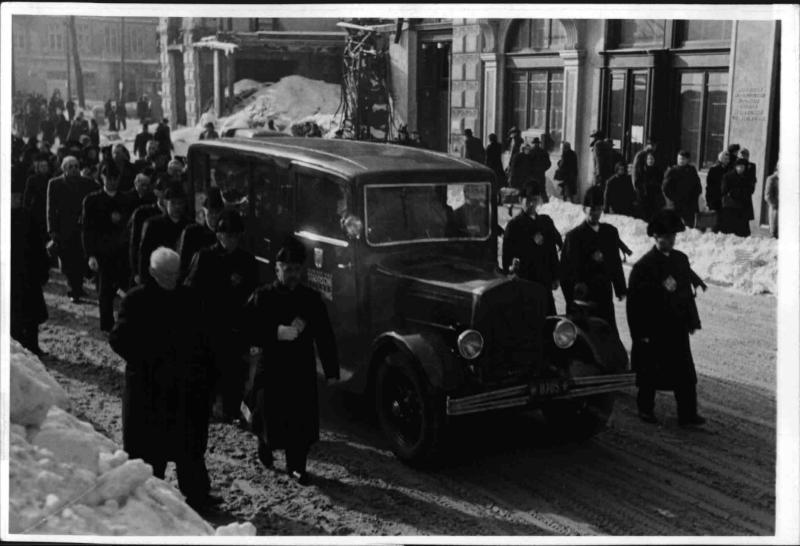 Begräbnis Anna Bahr-Mildenburg