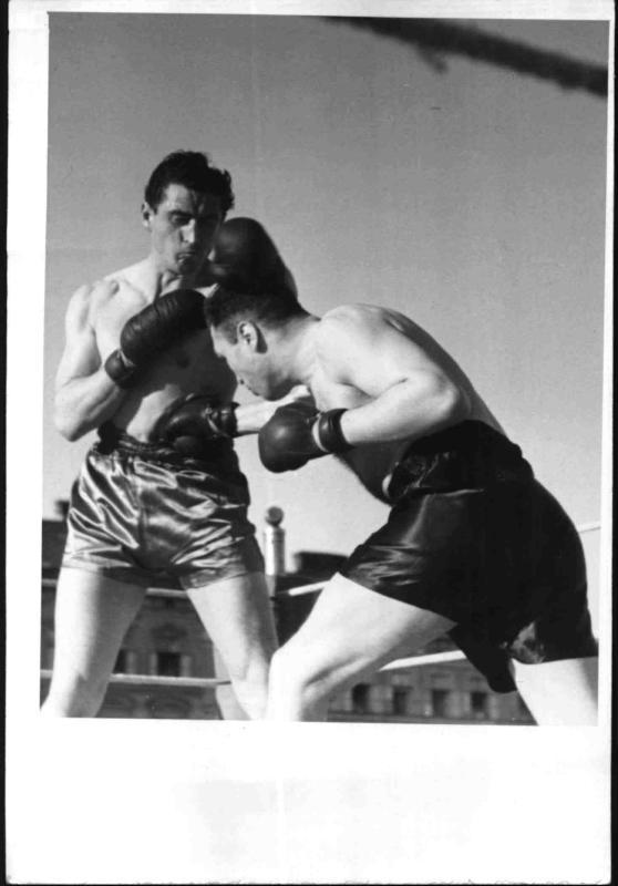 Boxkampf in Wien