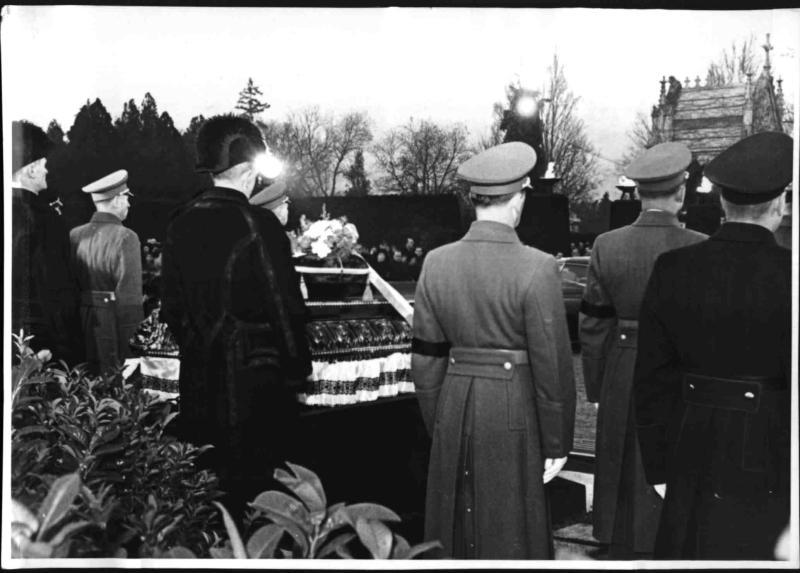 Begräbnis Bundespräsident Renner