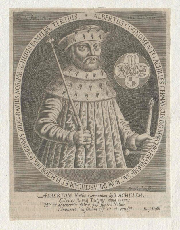 Albrecht Achilles, Kurfürst von Brandenburg