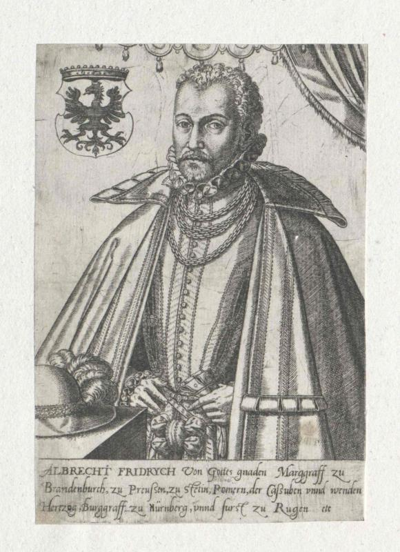 Albrecht Friedrich, Herzog von Preußen