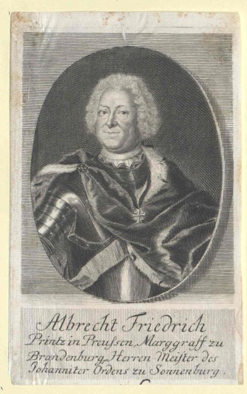 Albrecht Friedrich, Markgraf von Brandenburg