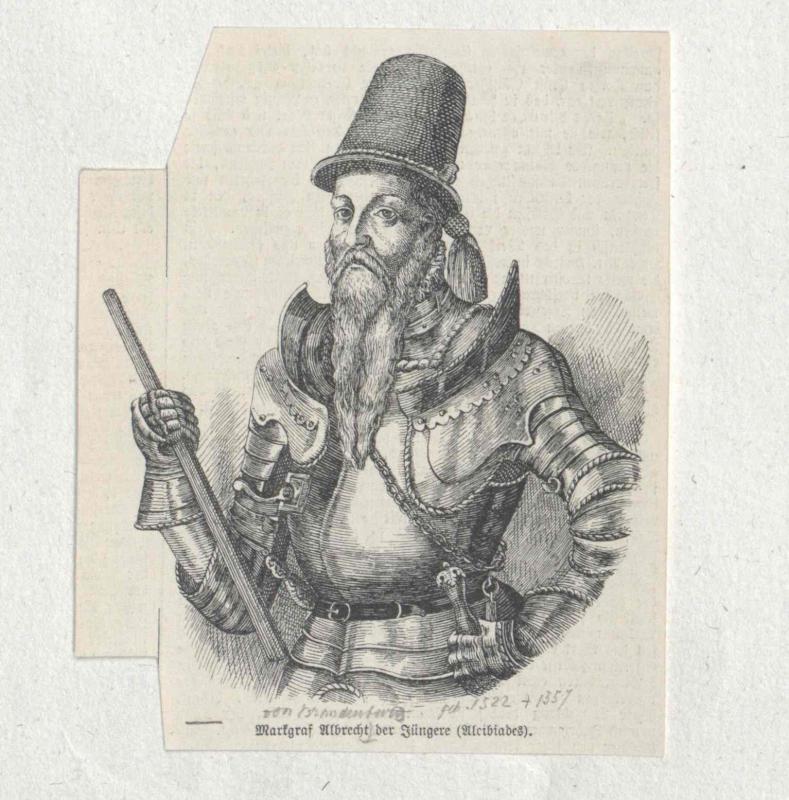 Albert Alcibiades, Kurfürst von Brandenburg
