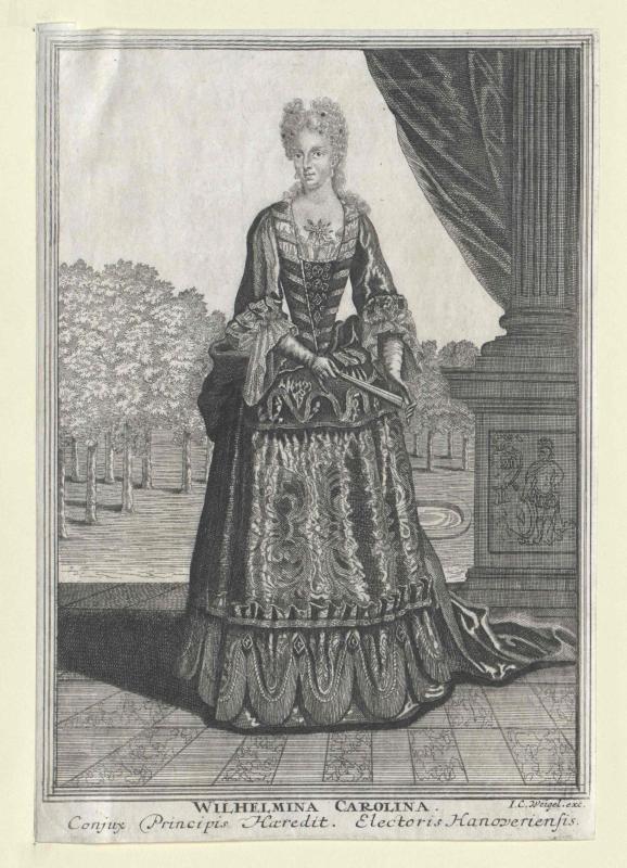 Wilhelmine Karoline, Prinzessin von Brandenburg-Ansbach