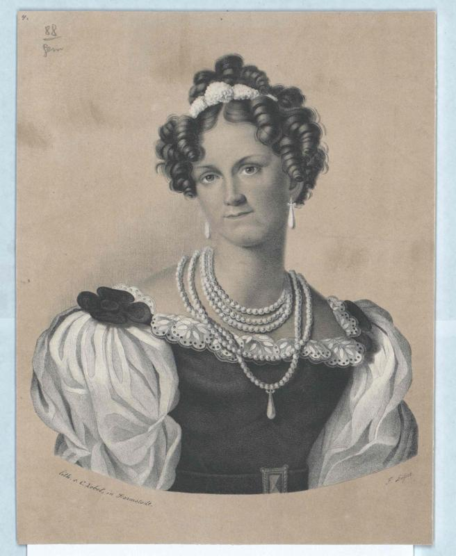 Wilhelmine Luise, Prinzessin von Baden