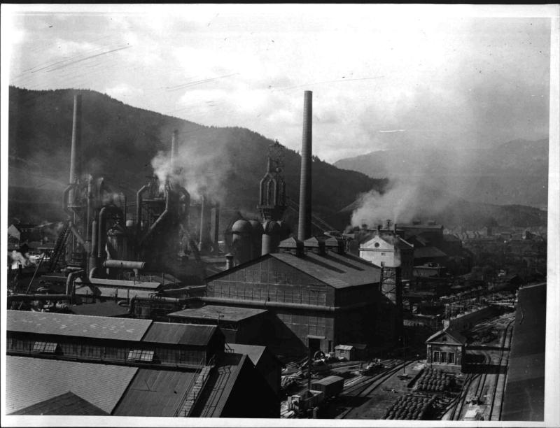 Das Stahlwerk in Donawitz