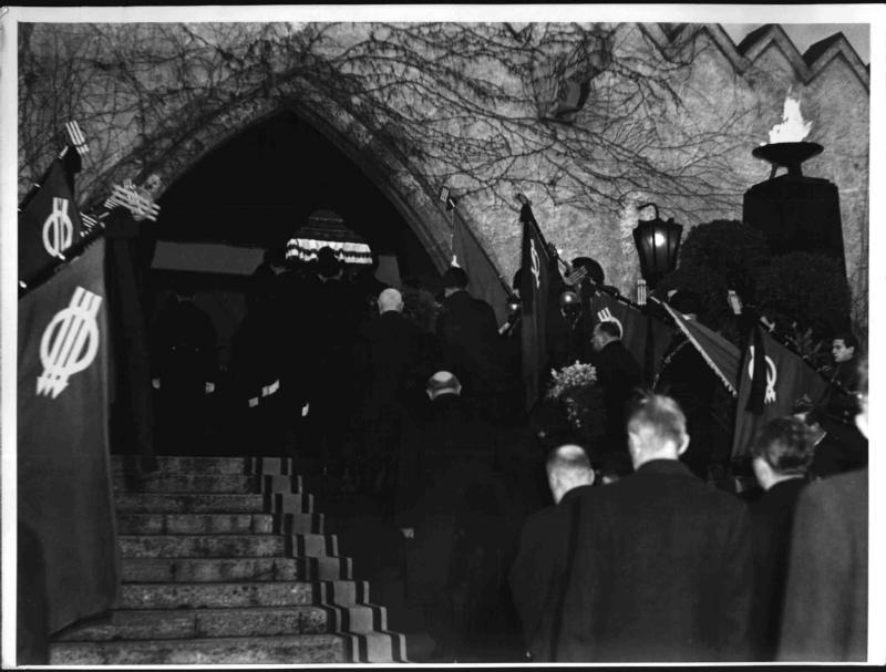 Begräbnis von Karl Seitz