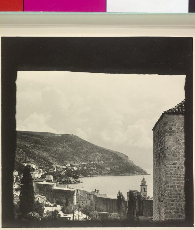 Blick von der Festung in Dubrovnik