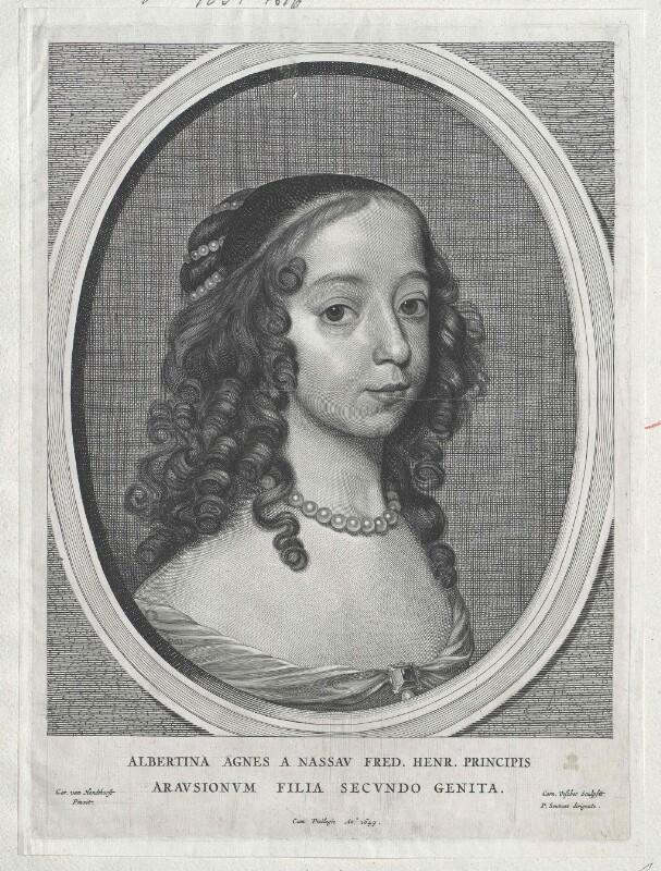 Albertine Agnes, Prinzessin von Oranien, Gräfin von Nassau