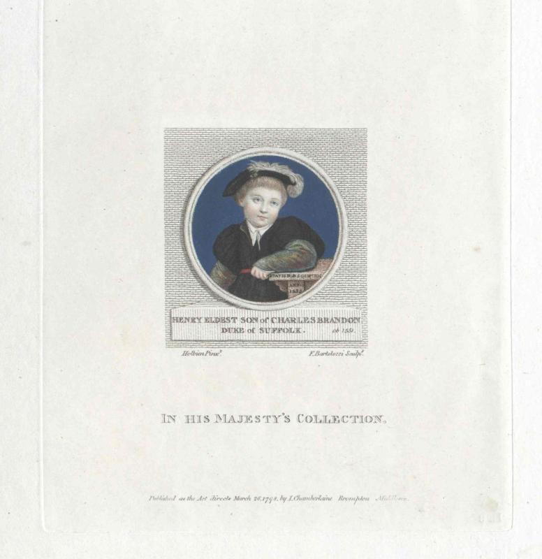 Suffolk, Henry Brandon Duke