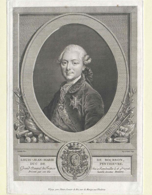 Penthièvre, Louis Jean Marie Duc de