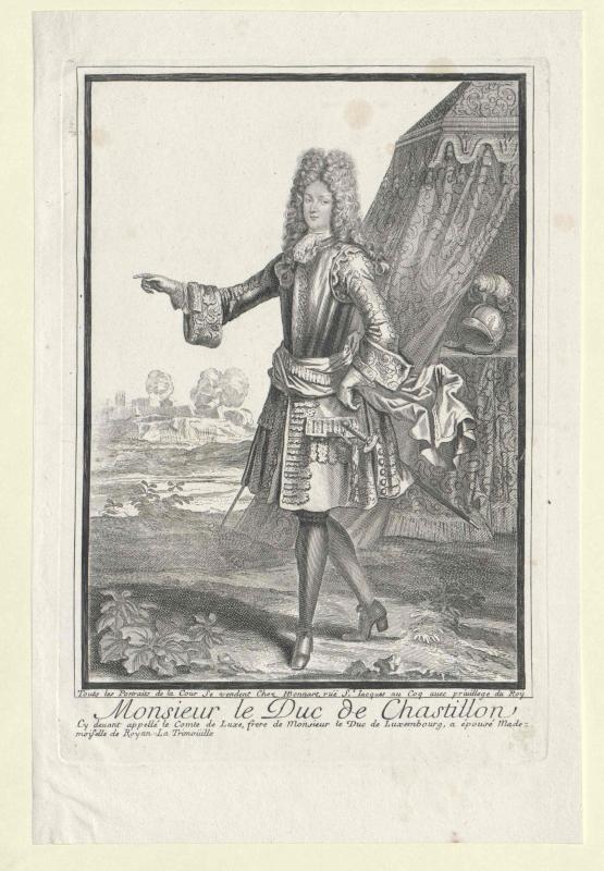 Chatillon, Paul Sigismond Duc