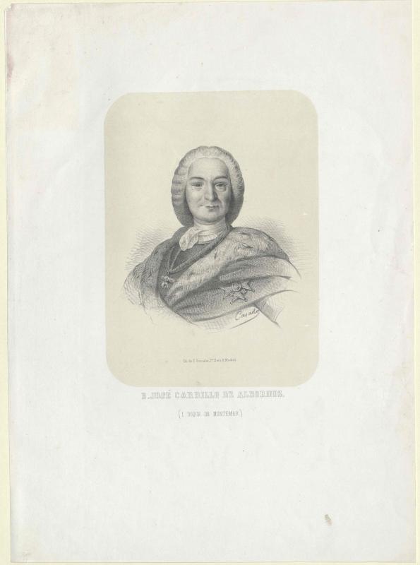 Carrillo-Albornoz, José 1. Duque de Montemar