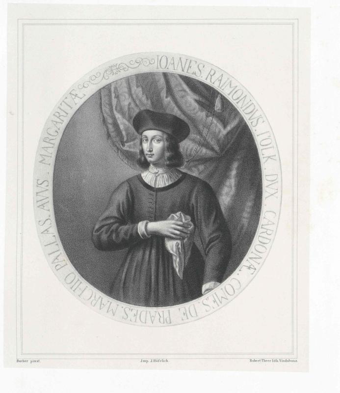 Cardona, Johann Raimund Herzog