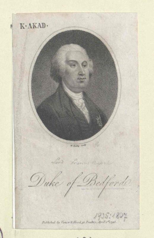 Bedford, Francis Russell Duke