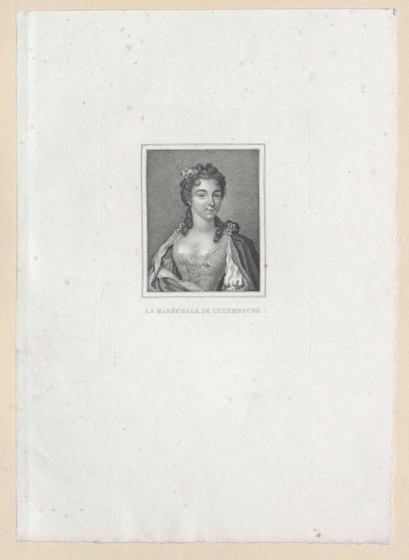 Clermont-Tallard de Luxembourg, Duchesse de Piney, Madeleine Charlotte de