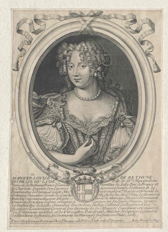 Béthune de Sully, Marguerite Louise de