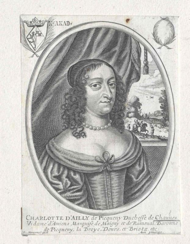Ailly, Comtesse de Chaulnes, Dame de Picquigny, Claire Charlotte Eugnénie d'