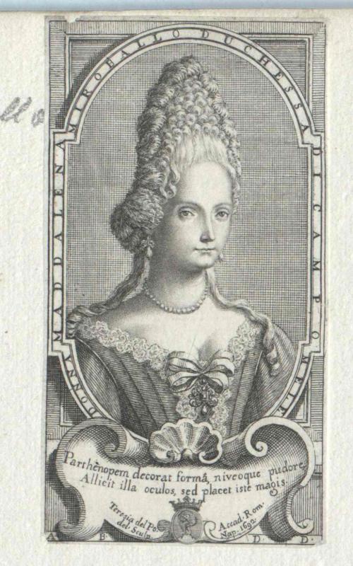 Miroballo, Duchessa di Campomele, Maddalena