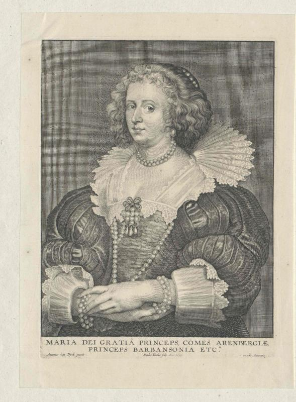 Barbançon, Marie Duchesse de
