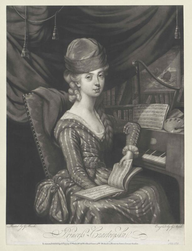 Czartoryska, Maria Anna Prinzessin