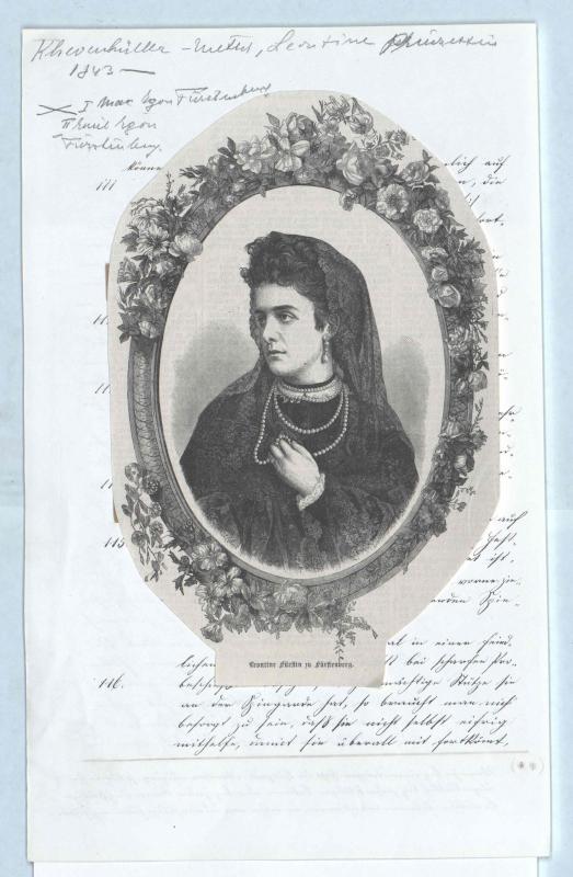 Khevenhüller-Metsch, Leontine Gräfin