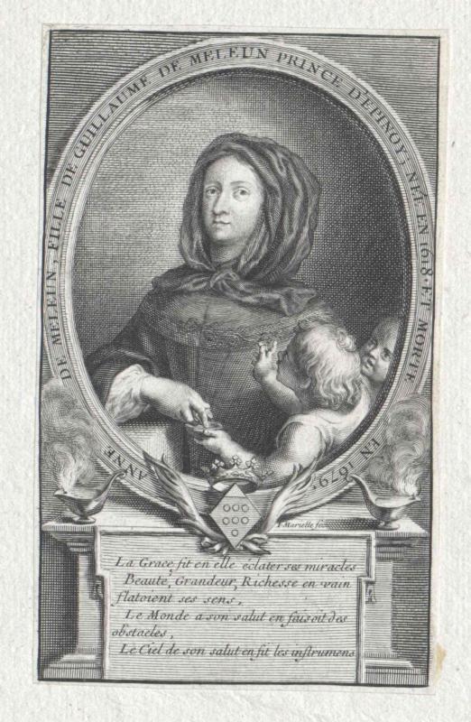 Melun, Marquise de Richebourg, Anne de