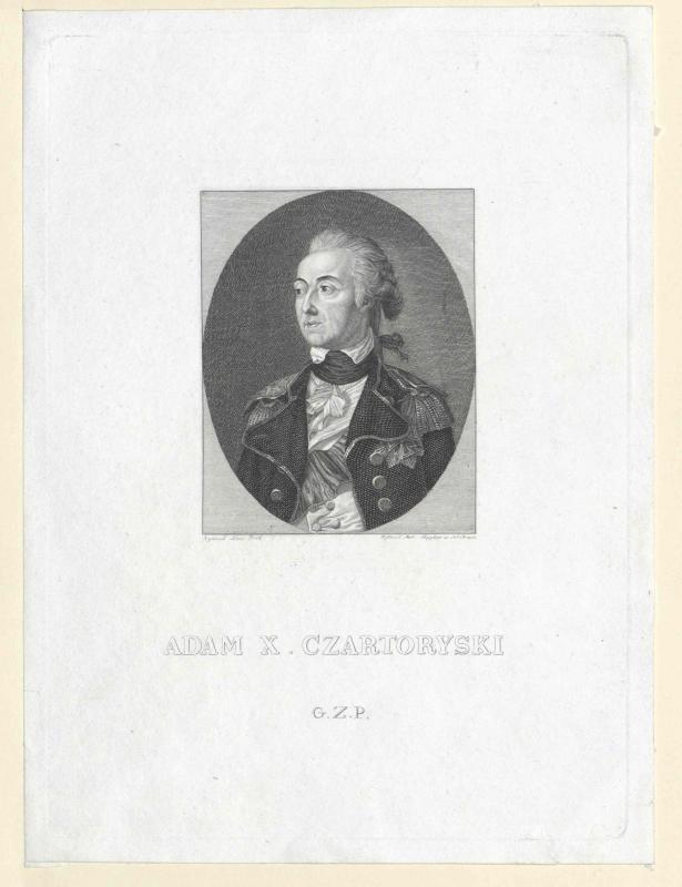 Czartoryski, Adam Kasimir Fürst