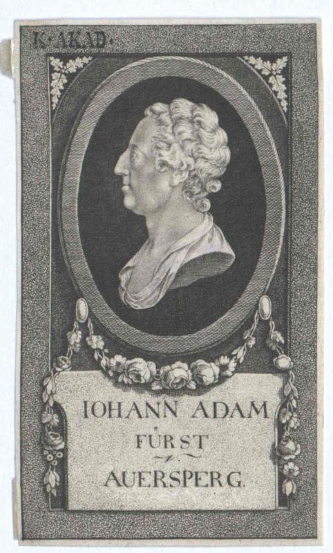 Auersperg, Johann Adam Joseph Fürst von