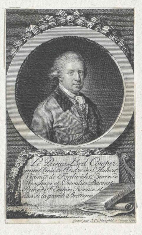 Clavering-Cowper, Earl Cowper, George Nassau