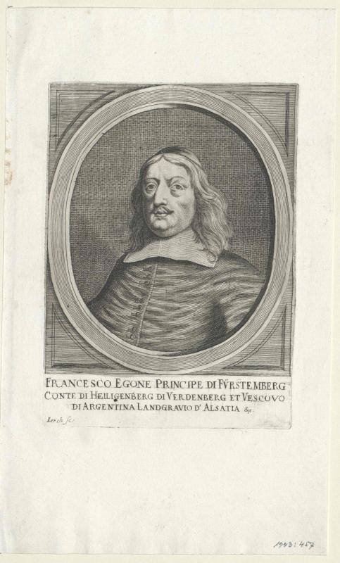 Fürstenberg, Franz Egon Landgraf zu