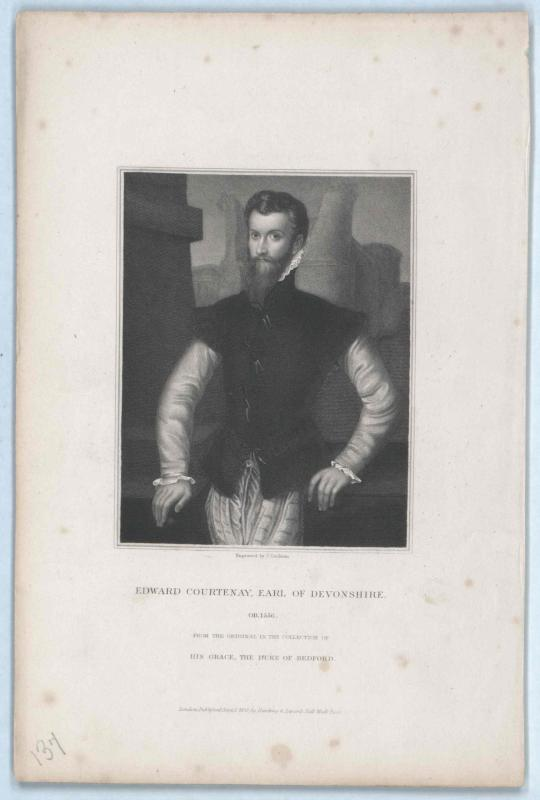 Courtenay, Earl of Devonshire, Edward