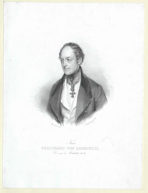 Lobkowitz, Ferdinand Josef Fürst