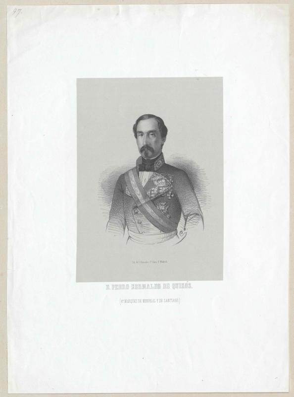 Bernaldo de Quirós, 8. Marques de Monreal y de Santiago, Pedro