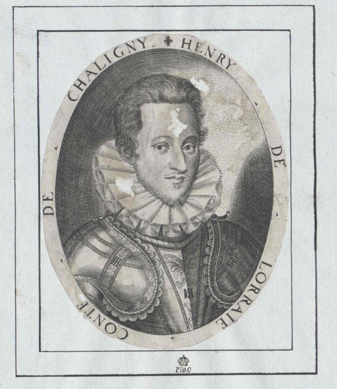 Heinrich von Lothringen, Graf von Chaligny