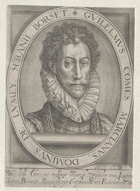 Marck, Seigneur de Lomain, Guillaume II. de la