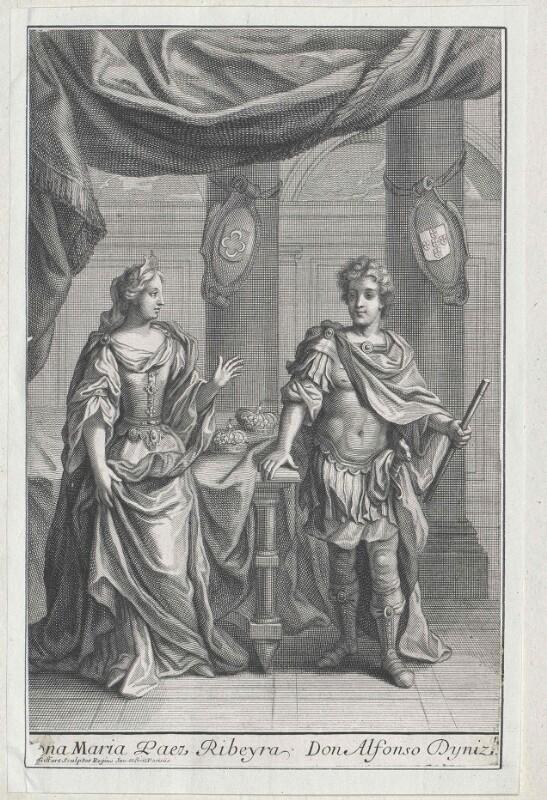 Alfons Dionysius von Portugal, Herr von Pouca