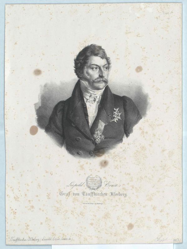 Tauffkirchen-Kleeberg, Leopold Ernst Graf von